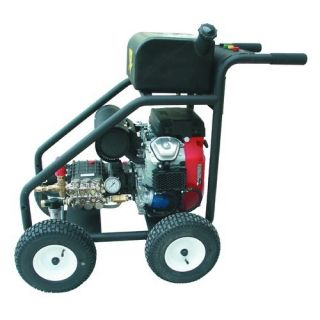 Cold Water Gas Pressure Washer with Honda Electric Start Engine