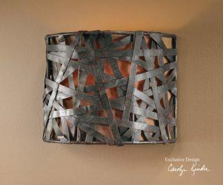 Electric Wall Sconce 60 Watt Light Modern Black Lamp Contemporary