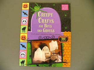 Halloween Crafts Stickers Book Kids Creepy Fun Easy New 0843120231