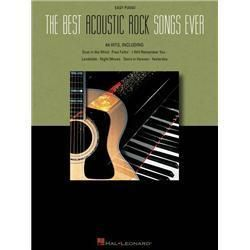 Hal Leonard The Best Acoustic Rock Songs Ever For Easy Piano