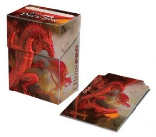 easley dragon deck box holds card sleeves