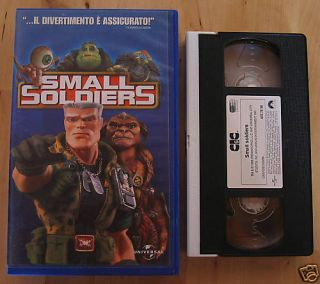 Small Soldiers VHS Kirsten Dunst Italian Language RARE