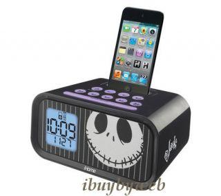 Ekids Kiddesigns DJ H22 Disney Kids Jack Skellington Alarm Clock iPod