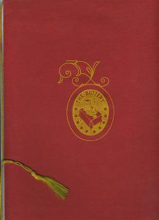 Buttery Menu & Wine List Ambassador East Hotel Chicago Illinois 1950