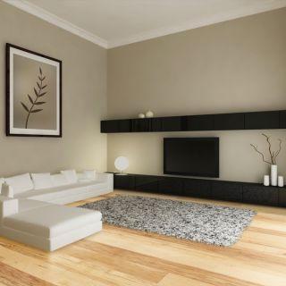 Handscraped Natural Hickory Hardwood Flooring Wood Floor