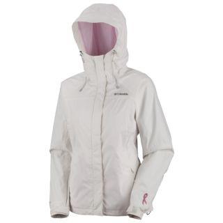 Womens Columbia Arcadia Rain Jacket Mom O Gram Pink Ribbon SEALED