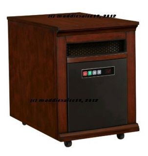 Portable TwinStar PowerHeat 1500W 5200 BTU Infrared Quartz Heater w