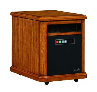 DURAFLAME Williams Oak Infrared Quartz Heater 10HM4126 0107