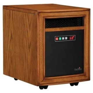 DURAFLAME Williams Oak Infrared Quartz Heater 10HM8000 0115