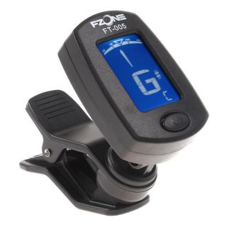 LCD Clip on Guitar Tuner Electronic Digital Chromatic Bass Violin