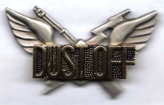 custom made dustoff vietnam 1st style air assault badge