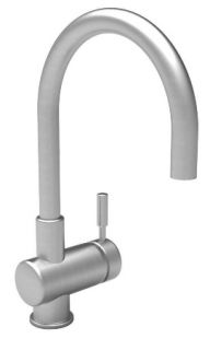 Newport Brass 2008 15S East Linear Single Hole Bar Faucet Satin Nickel