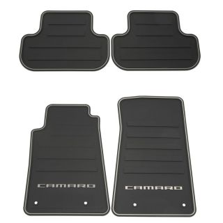 2012 Camaro Floor Mats Front & Rear All Weather Black GM Brand New