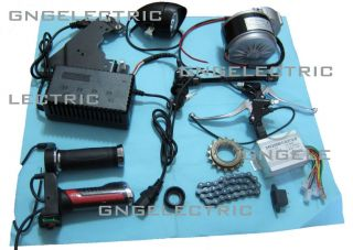 24V 250W Electric Motorized E Bike Conversion Kit