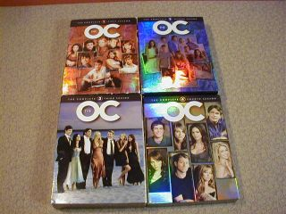 The O C OC 1st 2nd 3rd 4th DVD 1 2 3 4 Complete Series Seasons 1 4