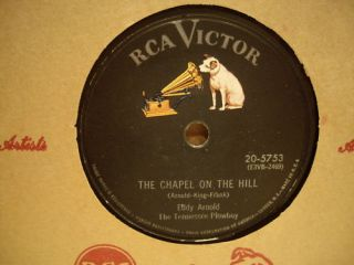 Eddy Arnold Chapel on The Hill RCA Victor 78rpm