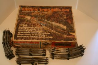 MARX O SCALE 666 UNION PACIFIC TRAIN SET ORIGINAL BOX EXTRA TRACK