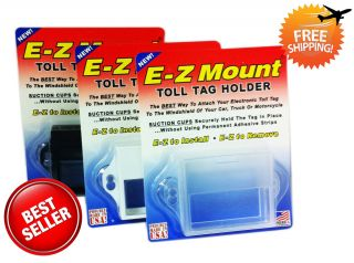 EZ Pass Toll Tag Holder 4 Different Chose E Z Mount Free SHIP Out
