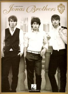 Jonas Brothers Sheet Music Easy Piano Guitar Chords New