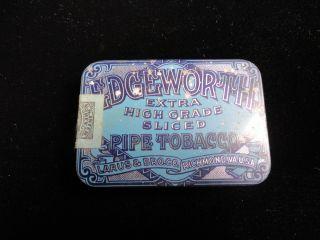 Vintage Edgeworth Tobacco Tin Pipe Tobacciana Larus Bro Co USA