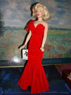 Mint Marilyn Monroe Red Dress Star Debut Tonner Tyler Elizabeth Taylor