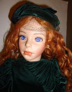 Elkes Originals Hutchens Porcelain Victorian Collector Doll Clarissa