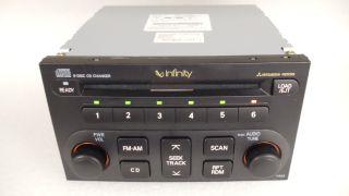New 03 04 05 Mitsubishi Eclipse 6 Disc CD Changer Radio Infinity P303
