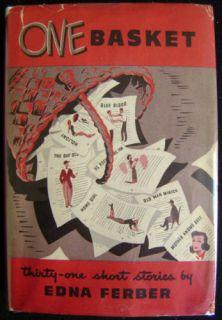 Edna Ferber One Basket 1947 Peoples Book Club HC DJ
