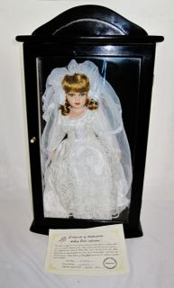 Ashley Belle Bride Doll Mint in Case with COA
