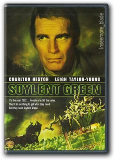 Green DVD New Charlton Heston, Leigh Taylor Young, Edward G. Robinson