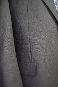 Bill Blass 2 Btn Navy Pinstripe Wool Suit W/ Pants 44R   S036