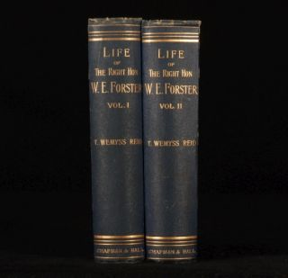 1888 2 Vols Life of William Edward Forster First Ed