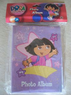 Nick Jr. Dora The Explorer Photo Album, Fits 40 4 X 6 Photos, NEW IN