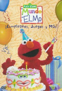Juegos Y mas Elmos World Birthdays Games and DVD New