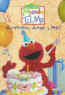 Juegos Y mas Elmos World Birthdays Games and DVD New