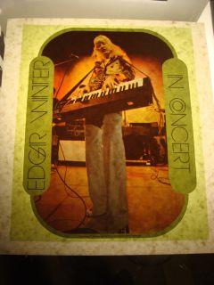 Edgar Winter Frankenstein Band 1970s Vintage Rock T Shirt Transfer