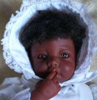 Petite Effie  Ethnic AA Effeje by E Knoops REBORN Doll Baby Girl so