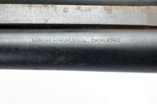 Antique Shotgun Double Barrel 16 Ga Gun Genuine Armory Steel Choke