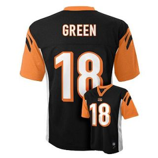 Green Cincinnati Bengals Kids Boys NFL Youth Jersey Medium 10/12