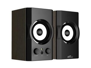 Eagle ET AR302 BK 6 Watts RMS 2.0 Black Soundstage Speakers