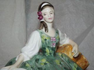 Doulton Peggy Davies Lady Figurine Elyse HN2474 1st Quality