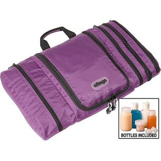 Pack It Flat Toiletry Kit Eggplant