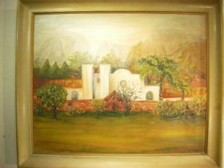 Original Oil Painting Canvas Southwest Art Landscape SG