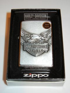 Brand New Zippo Lighter in Box Model 20230 Harley Davidson Iron Eagle