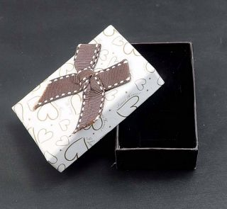 gift package earrings ring jewellery boxes~ 8 X 5 X 2.5mm BX20