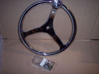 Edson stainless 13 steering wheel nut Power knob