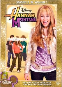 Hannah Montana Complete Season 2 Disney DVD x4 Discs