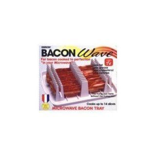 NEW Emson Bacon Wave Microwave Bacon Cooker