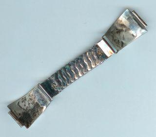 Vtg Bernard Homer SR Alice Leekya Zuni Sterling Silver Turquoise Watch