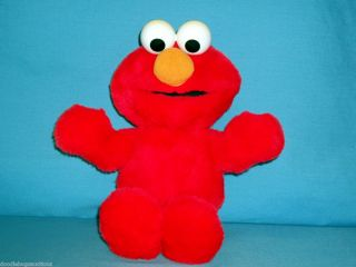 Sesame Street 1997 Tyco Tickle Me Elmo Electronic Talking Plush Doll